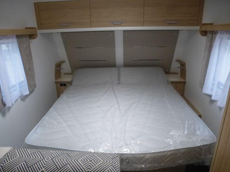 Caravane Neuf La Mancelle ELEGANCE 550 CT, Maxi salon, Lit central