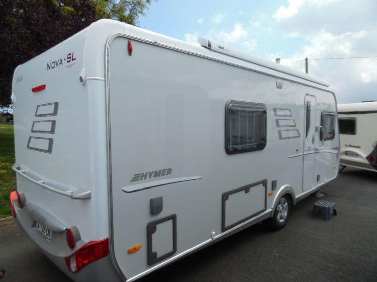 Caravane Occasion Hymer NOVA 580 SL