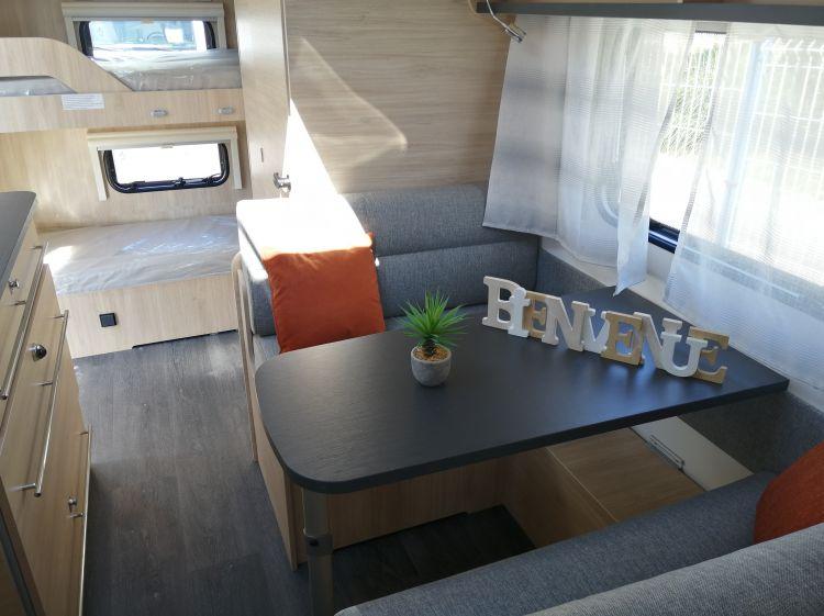 Caravane Neuf Caravelair Alba Style 486 Family 6 places