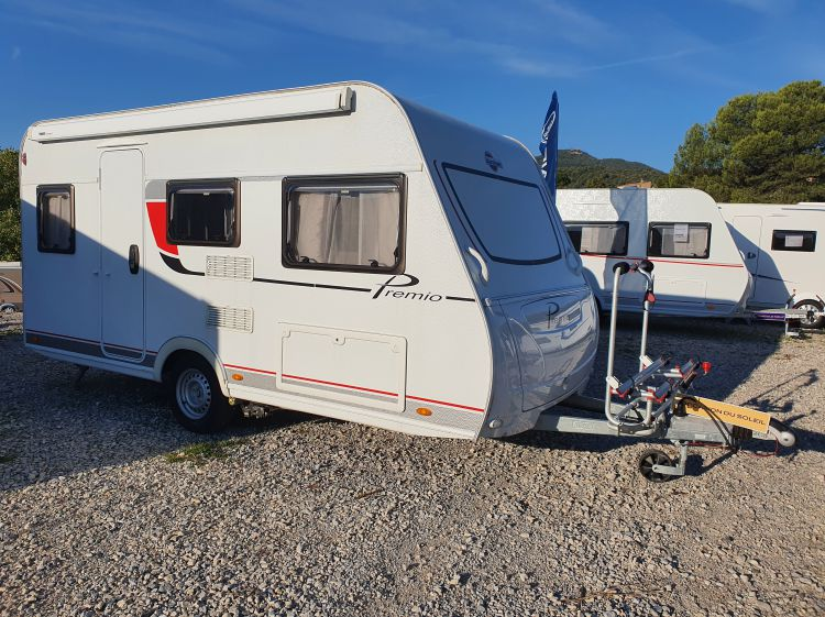 Caravane Occasion Burstner Premio Life 435 TS