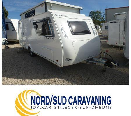 Caravane Neuf Silver TREND 420 sans surcoût de péage