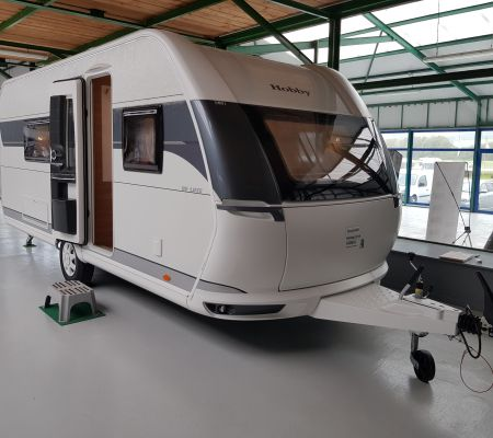 Caravane Neuf Hobby 495 WFB DE LUXE