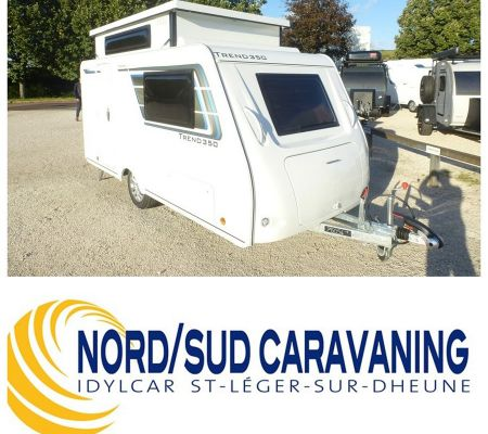 Caravane Neuf Silver TREND 350, Grand salon et péages gratuits