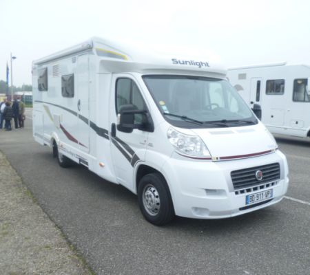 Camping-car Occasion Sunlight T 69