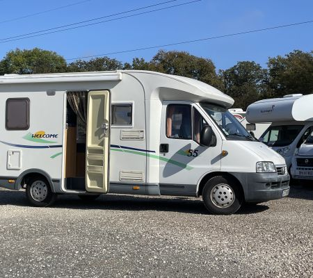 Camping-car Occasion Chausson Welcome 55