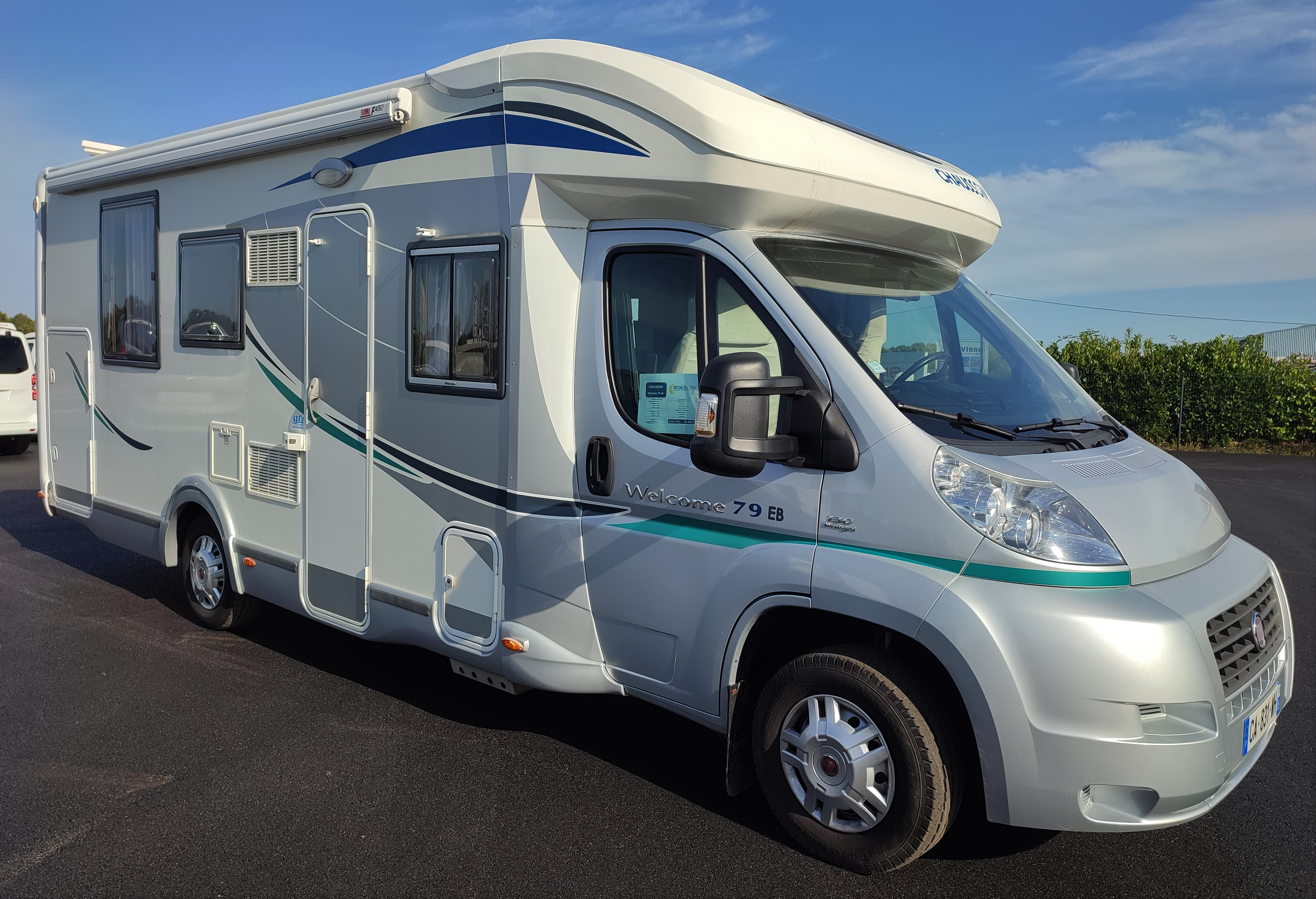 Camping-car CHAUSSON WELCOME 79EB