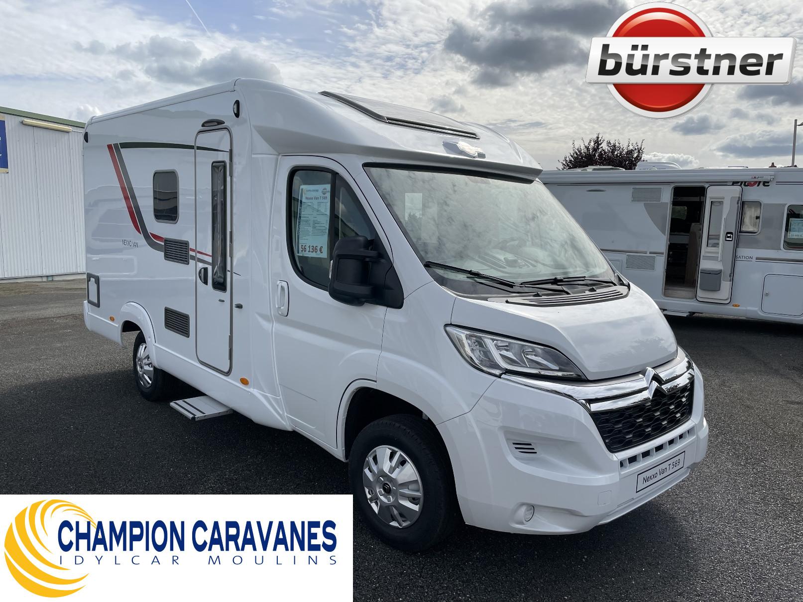 Camping-car BÜRSTNER Nexxo Van T 569