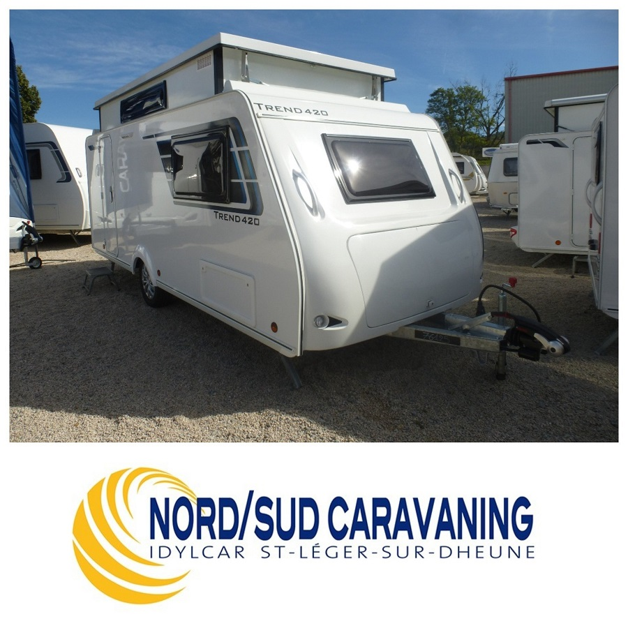 Camping-car SILVER TREND 420 sans surcoût de péage