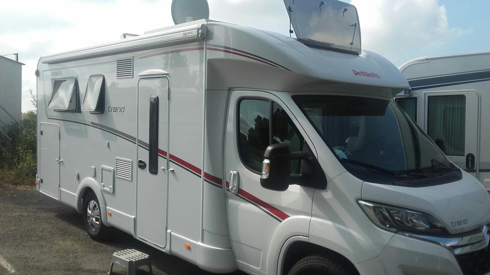 Camping-car DETHLEFFS Trend T 7057 DBM