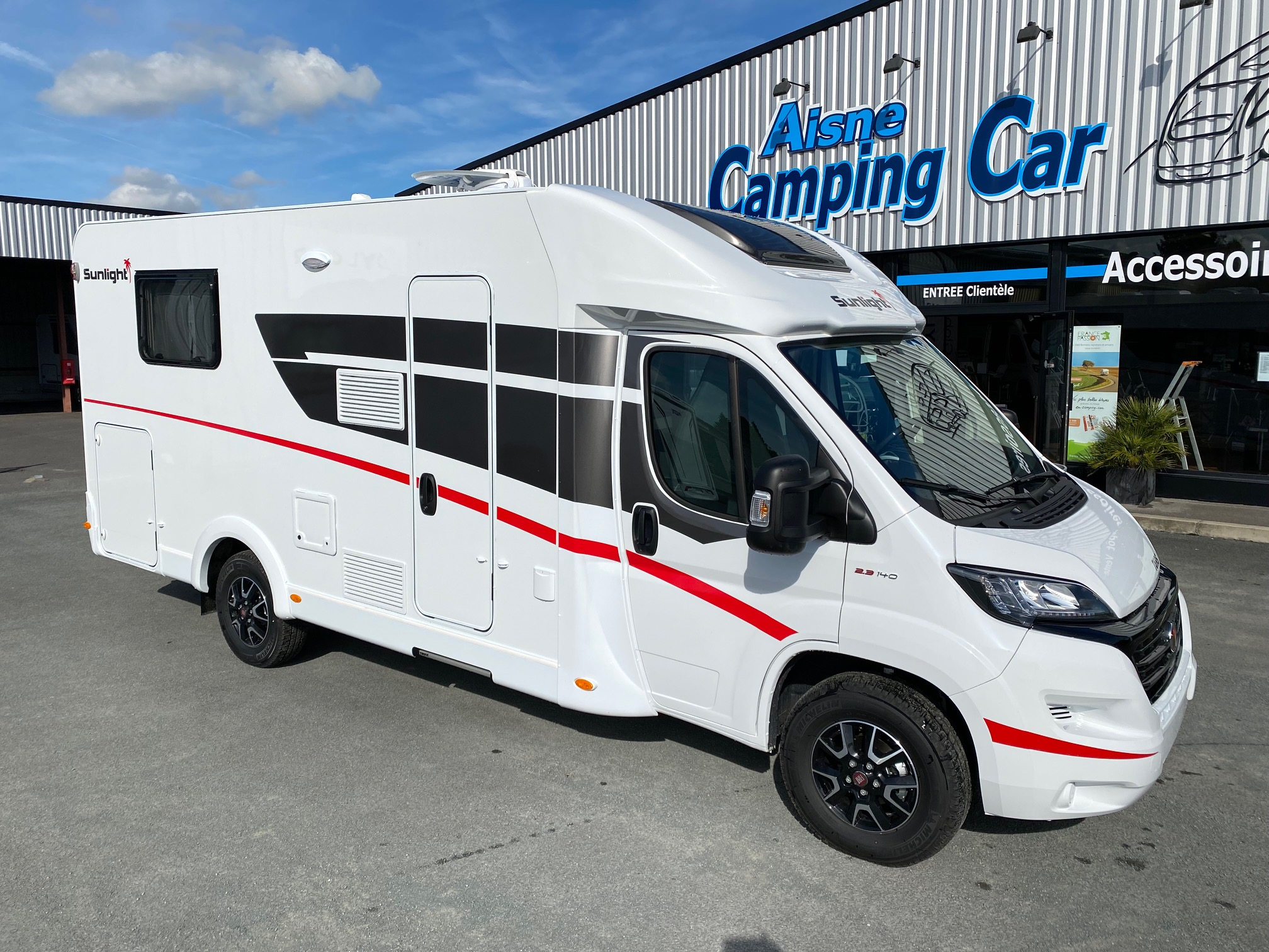 Camping-car SUNLIGHT T 69 S 2021