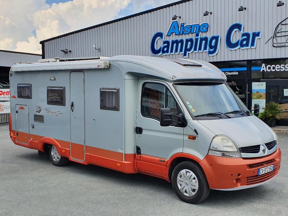 Camping-car BÜRSTNER Delfin T 695