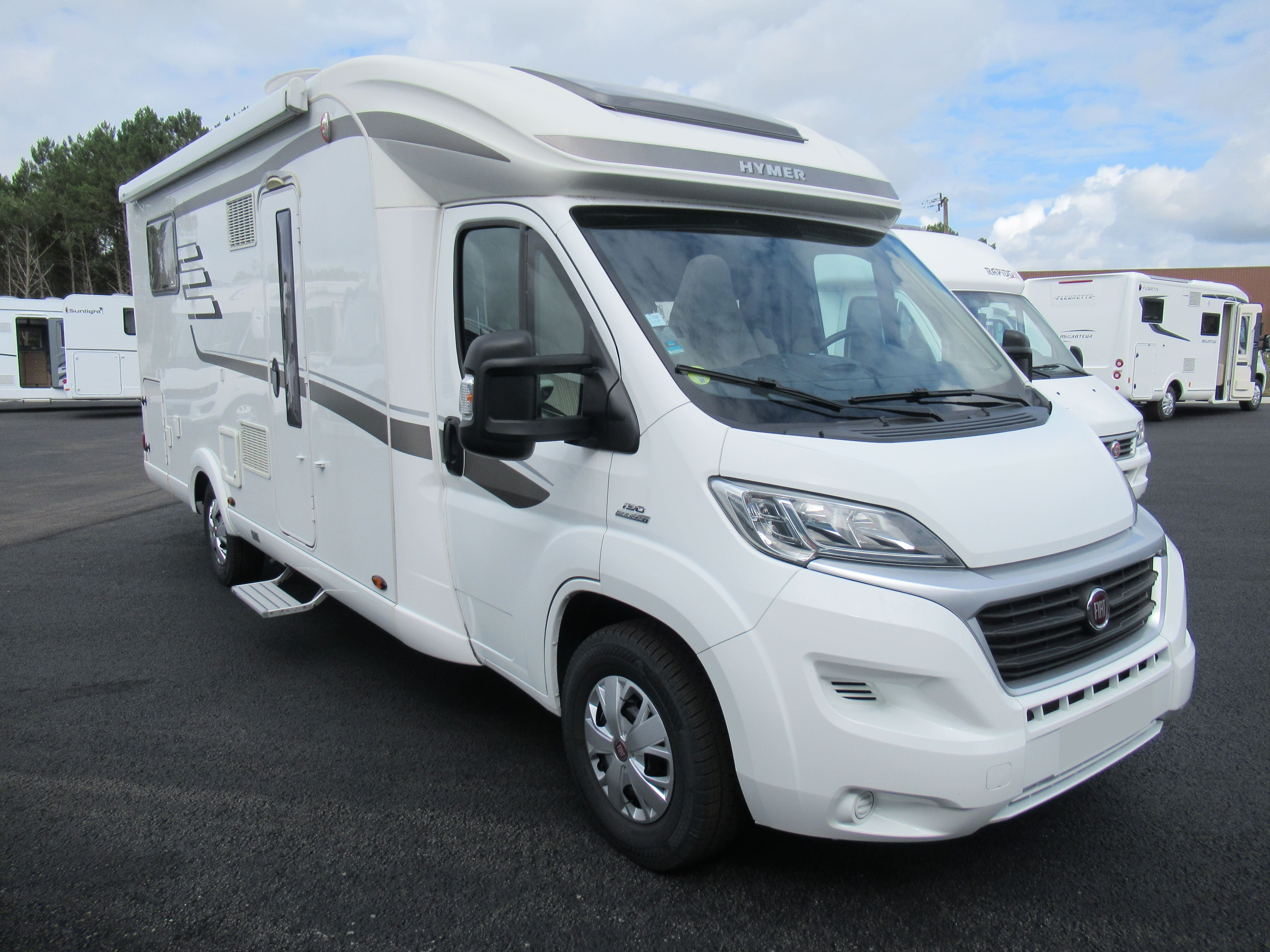 Camping-car HYMER T 698 CL